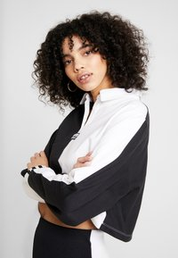 adidas Originals - Topper langermet - black/white - 3