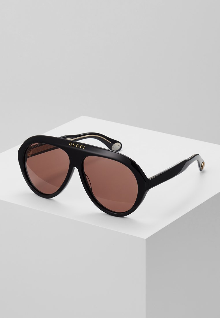 Gucci - Gafas de sol - black/brown