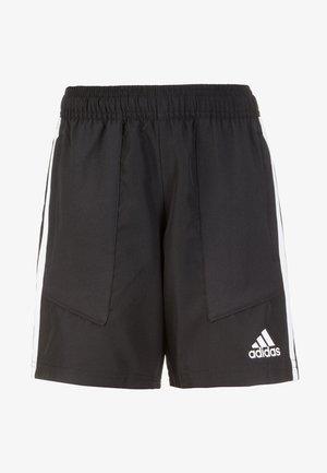 TIRO 19 WOVEN SHOY CLIMALITE SHORTS - Sports shorts - black / white