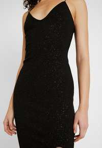 Nly by Nelly - BOMBSHELL SPARKLE DRESS - Cocktail dress / Party dress - black - 6