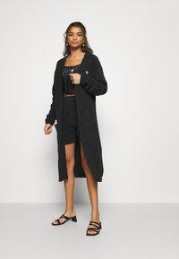 adidas Originals - KIMONO - Cardigan - black - 0