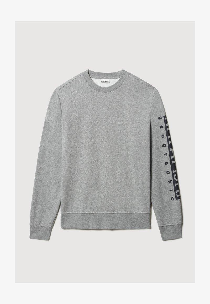 Napapijri - BADAS - Sweatshirt - medium grey melange
