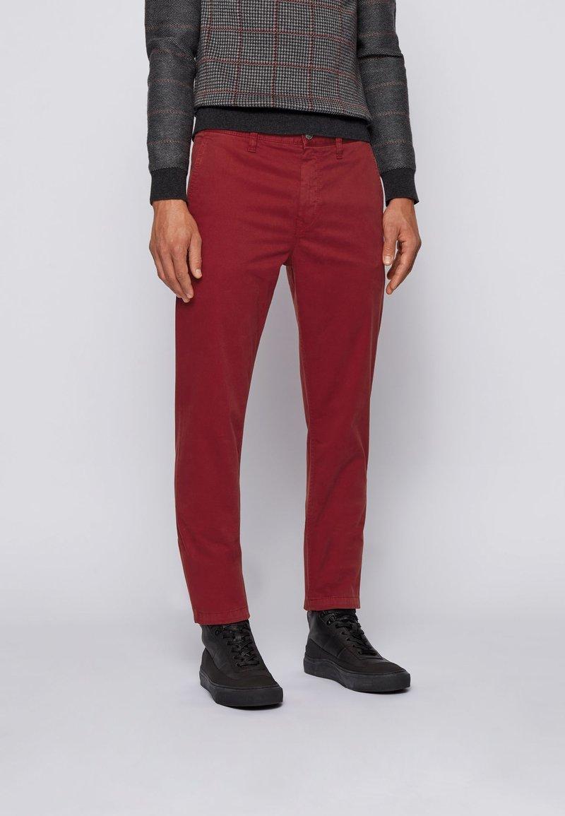 BOSS - Chinos - dark red