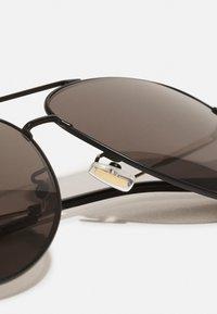 BOSS - UNISEX - Sunglasses - matte black/gold-coloured - 4