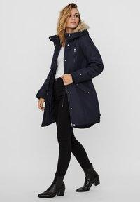Vero Moda - Winter coat - navy blazer - 1