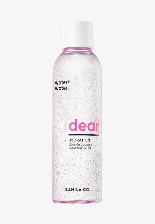 DEAR HYDRATION DOUBLE CAPSULE ESSENTIAL TONER - Tonic - -