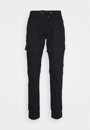 SUTTON - Cargo trousers - black