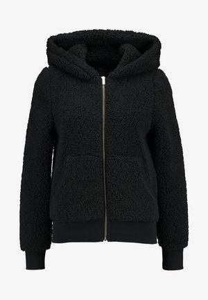 ONYCAROLINE - Fleecová bunda - black