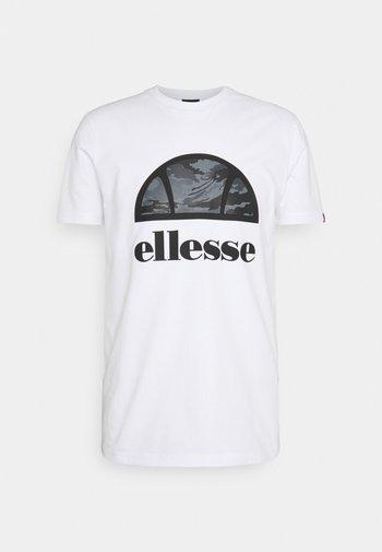 ALTA VIA TEE - Print T-shirt - white