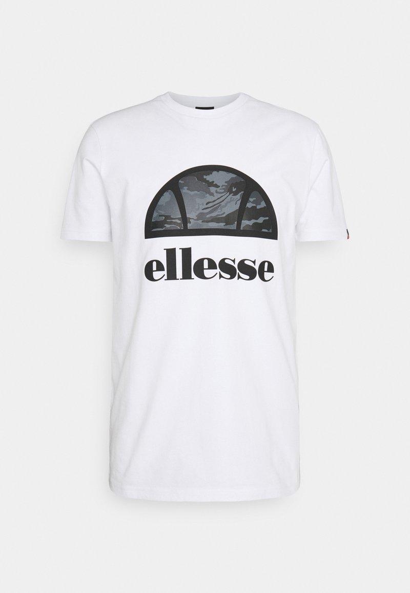 Ellesse - ALTA VIA TEE - Print T-shirt - white