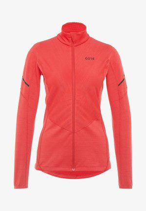 THERMO ZIP  - Sports shirt - hibiscus pink