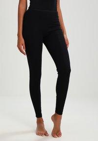 Schiesser - Pyjama bottoms - schwarz - 0
