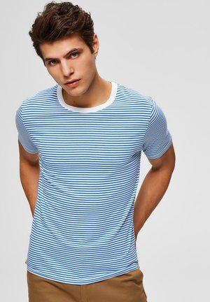 SLHTHEPERFECT  - T-shirt imprimé - campanula