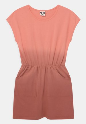 SIGRID SHORT SLEEVE - Jersey dress - musk melon/chutney