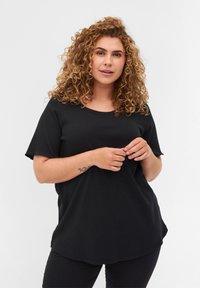 Zizzi - Basic T-shirt - black - 0