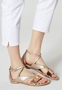 IZIA - Sandals - gold - 0