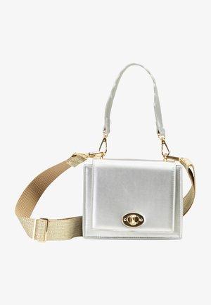 Handbag - silber metallic