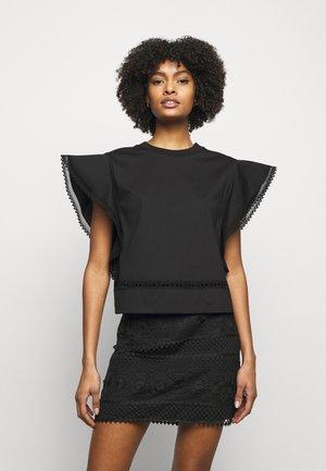 UPPER BODY GARMENT - T-shirt imprimé - black