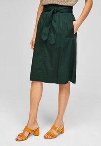 s.Oliver BLACK LABEL - A-line skirt - leaf green - 0