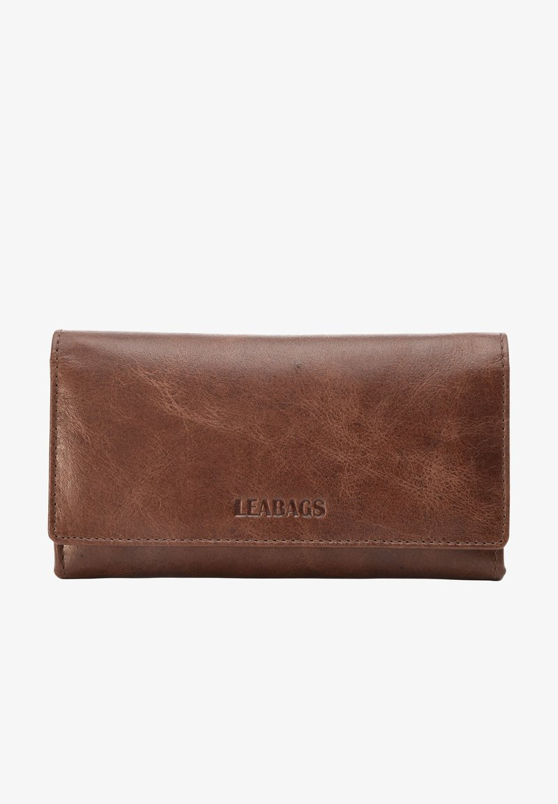 Leabags - CLEVELAND - Wallet - brown