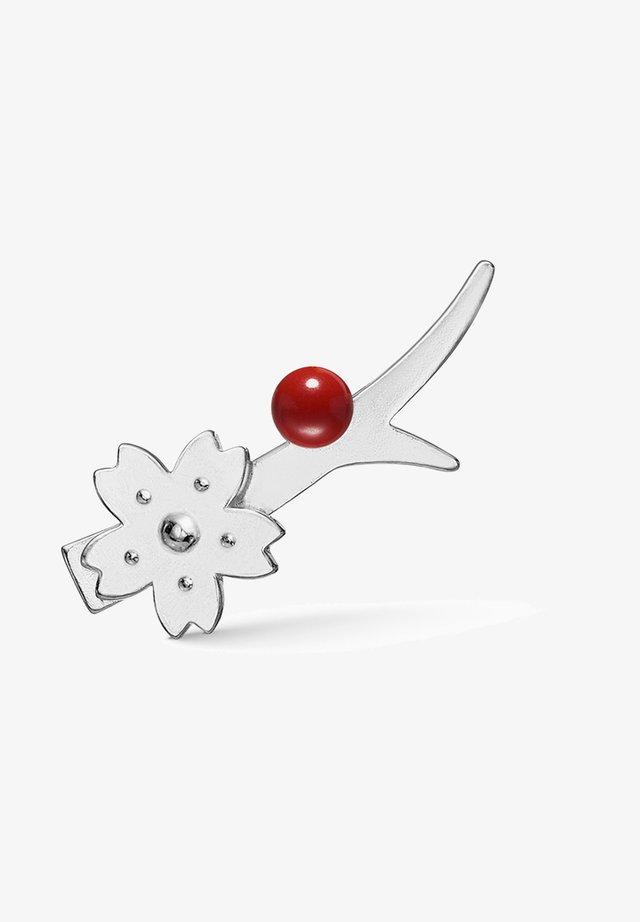 Single ear clip - Sakura Earcrawler - Left - Oorbellen - silber