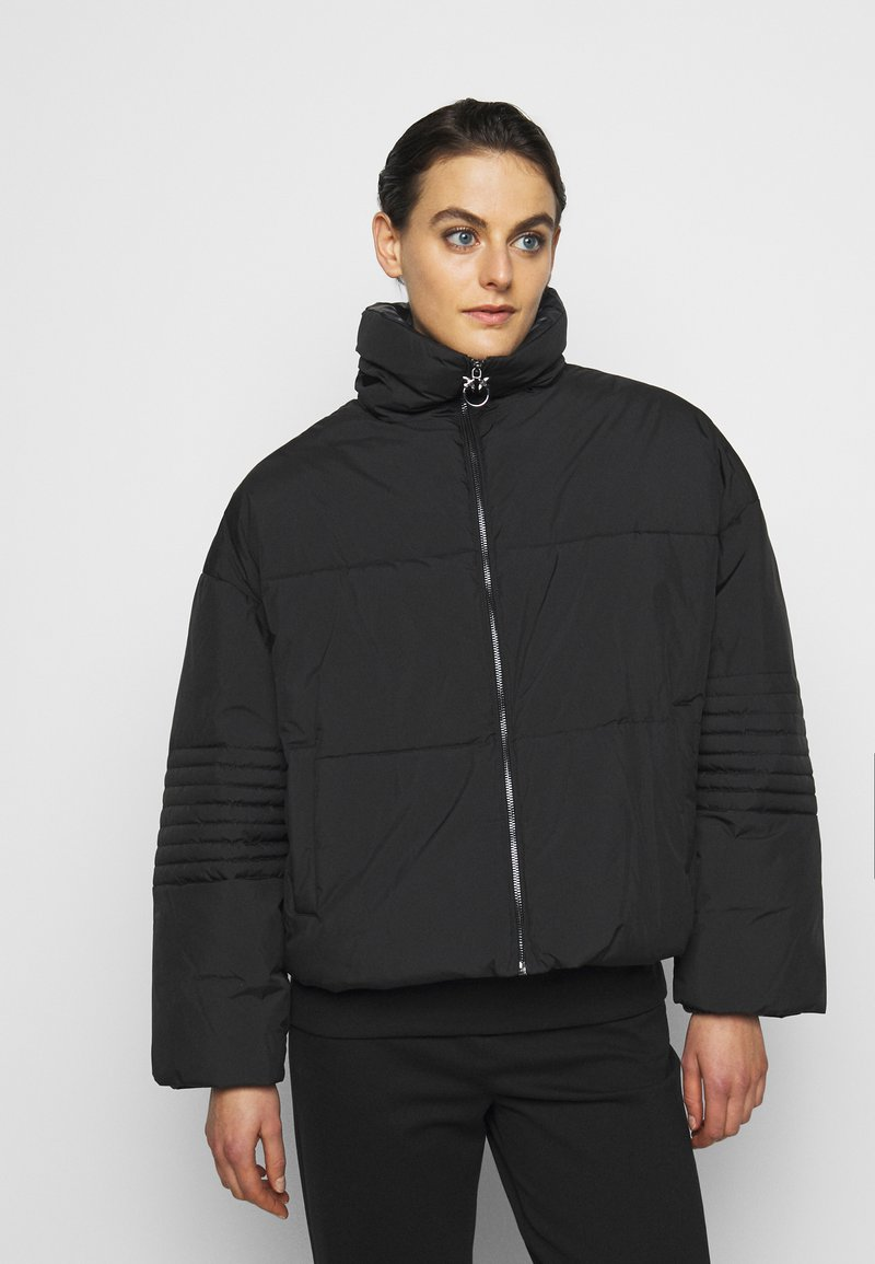 Pinko - FIORE CABAN - Light jacket - black