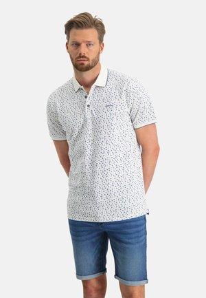Poloshirt - white/cobalt