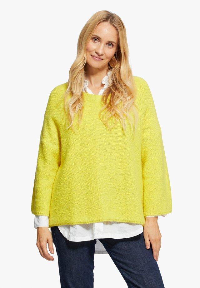FUSINI - Pullover - neon green