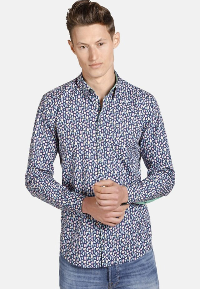OXFORDGEMS - Shirt - blue patterned
