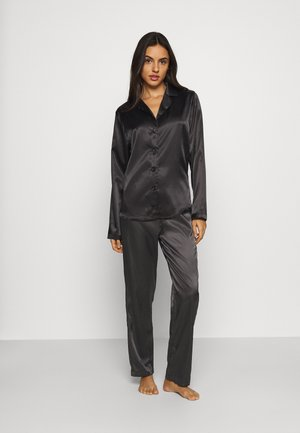 SKYE PANT AND SHIRT SET - Pyjama - black caviar