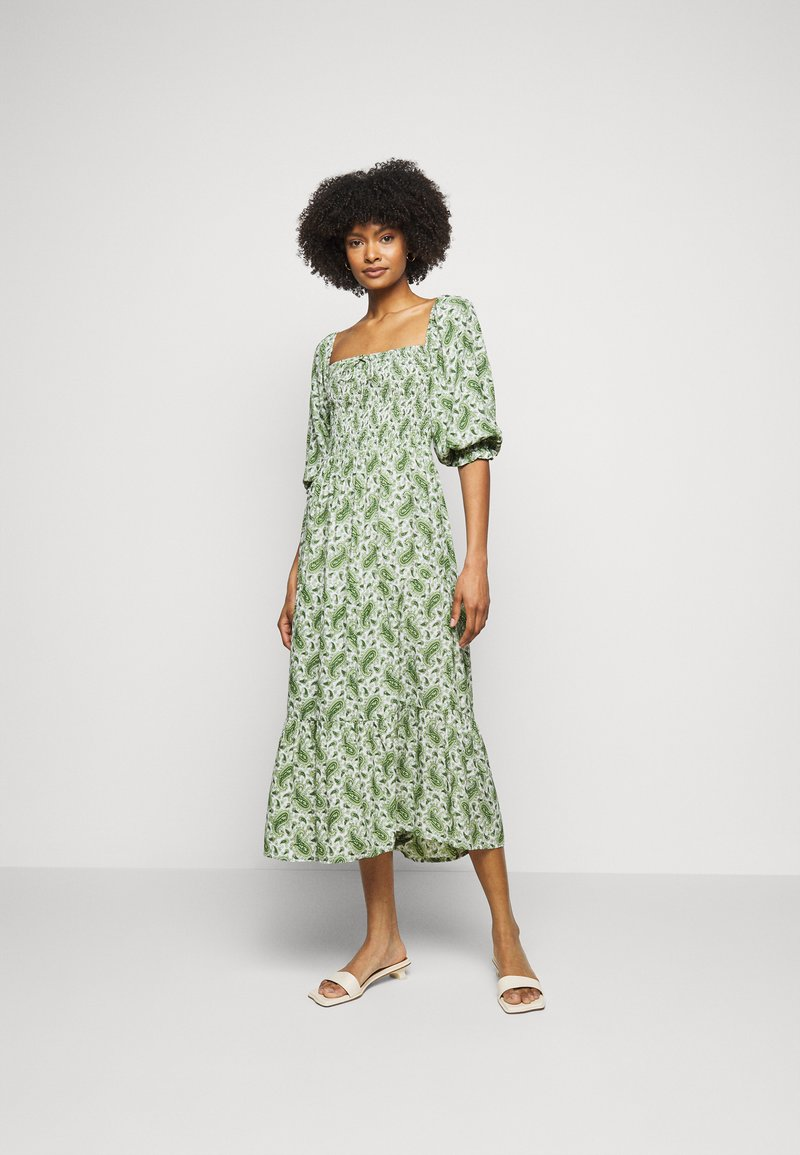 Faithfull the brand - LE GALET DRESS - Denní šaty - green