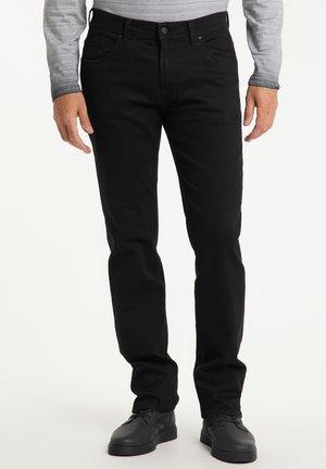 THOMAS - Straight leg jeans - black