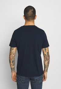 Lee - WOOBLY  TEE - T-shirt con stampa - navy drop - 2