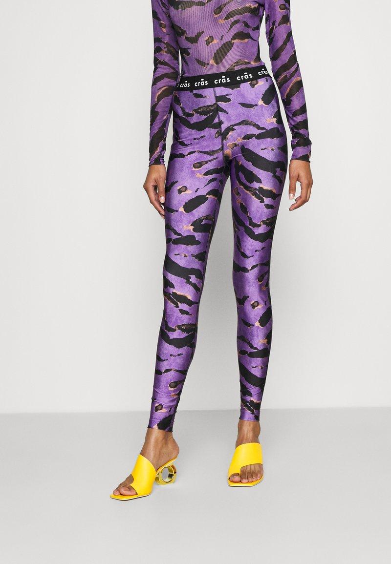 Cras - KATECRAS - Leggings - Trousers - savannah