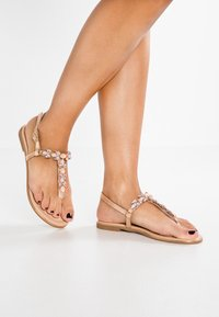 Anna Field - T-bar sandals - rose gold - 0