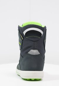 Lowa - RAIK GTX UNISEX - Winter boots - navy/limone - 3