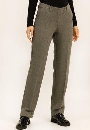 MIT GERADEM BEIN - Trousers - graphite