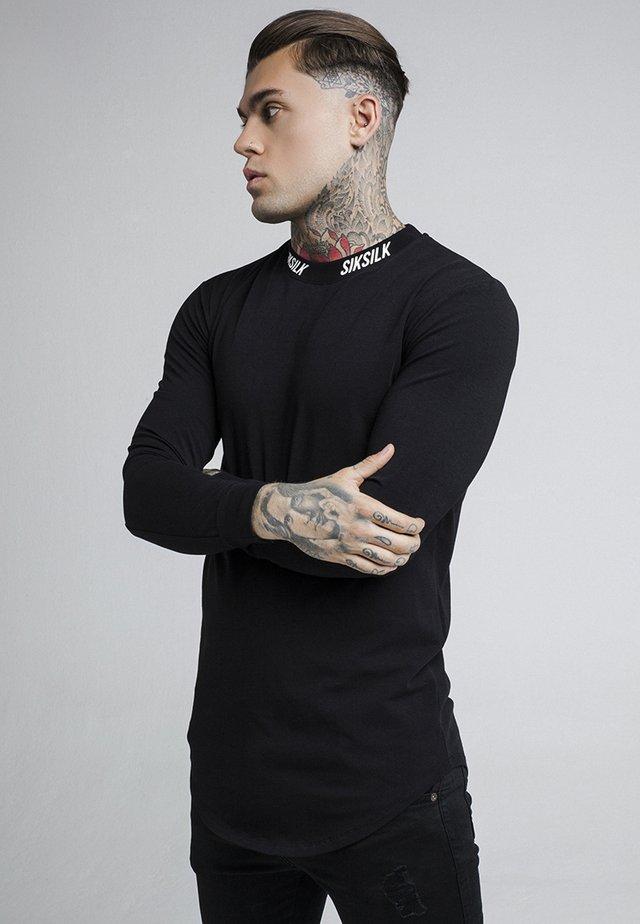 TURTLE NECK - Long sleeved top - black