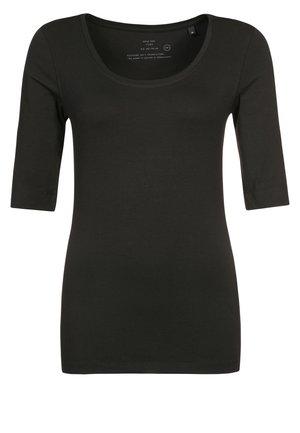 SANIKA - Basic T-shirt - black
