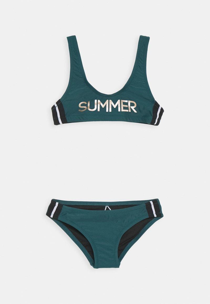 Brunotti - DAARANI GIRLS SET - Bikinit - fuel green