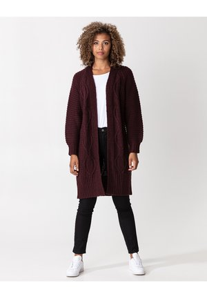 ELLIE - Cardigan - dkred