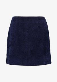 Missguided - MINI SKIRT - A-line skirt - navy - 3