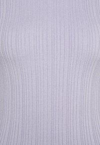 Missguided Petite - SKINNY HIGH NECK MINI DRESS - Day dress - purple - 2