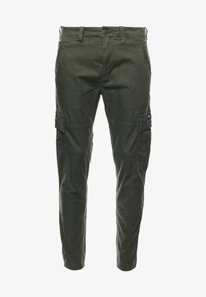 Cargo trousers - draft olive