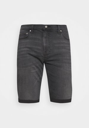 Jeansshorts - clean washed black