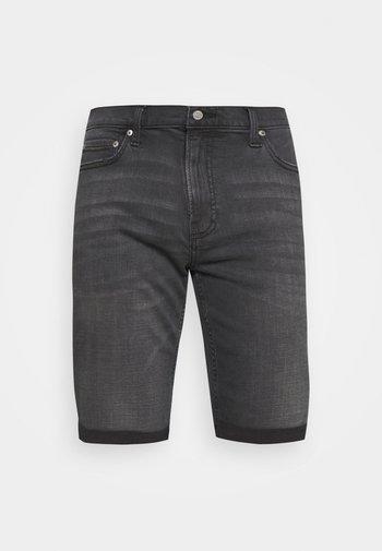 Szorty jeansowe - clean washed black