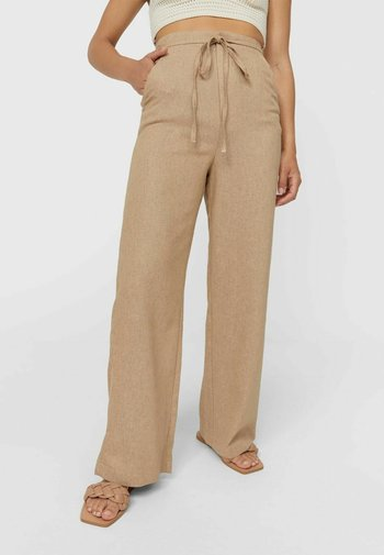 Spodnie materiałowe - stone