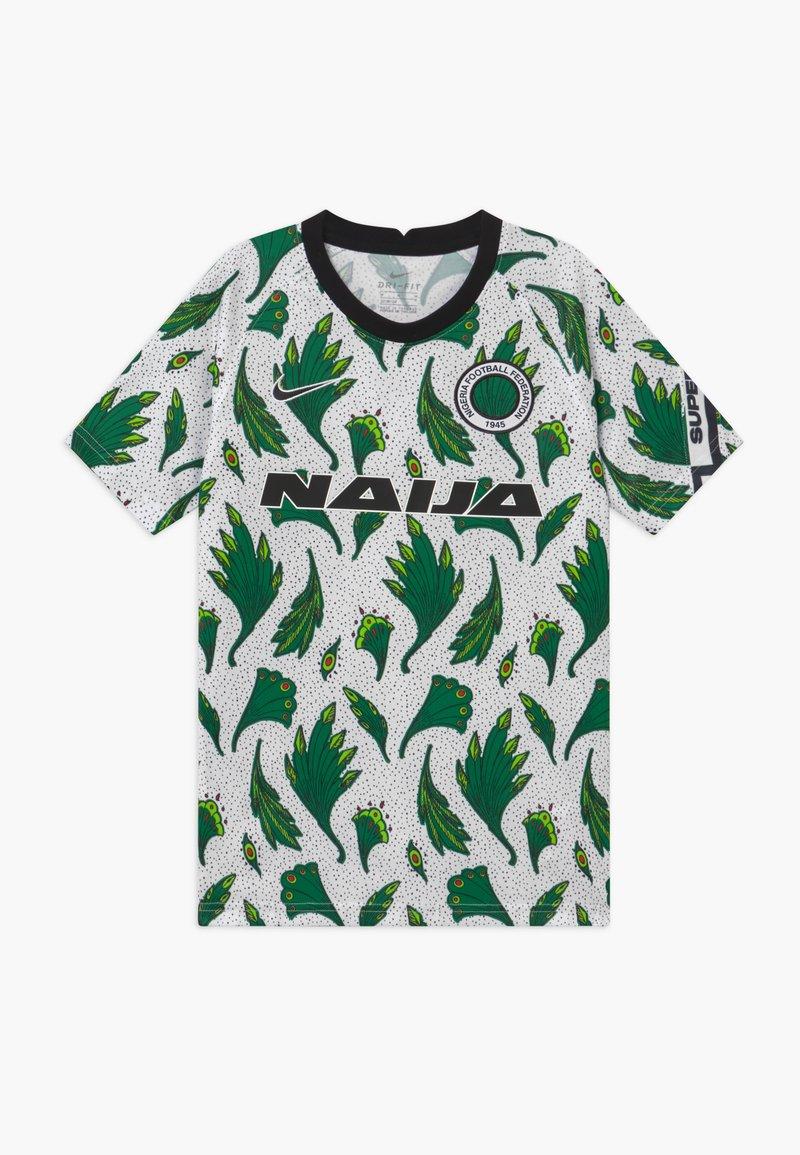 Nike Performance - NFF NIGERIA  - Oblečení národního týmu - white/pine green/black