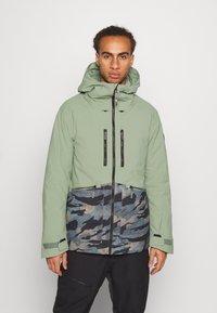 O'Neill - TEXTURE JACKET - Snowboard jacket - light green - 0