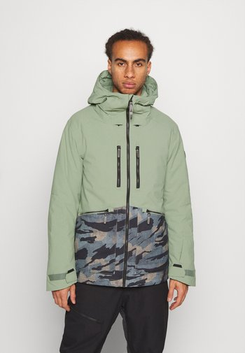 TEXTURE JACKET - Snowboardová bunda - light green
